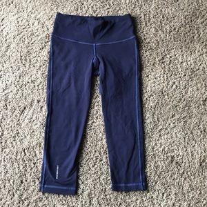 b7c386ac86 graced by grit. Graced by grit blue crop compression pants XS